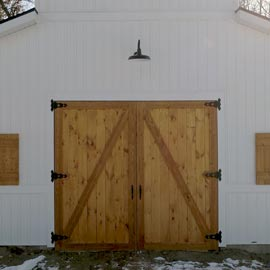 Custom Barns West Michigan